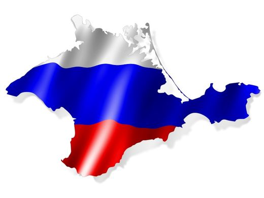 Crimea russian flag
