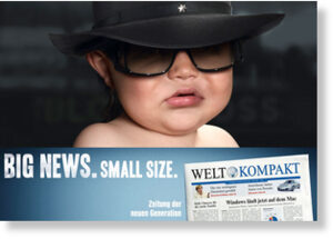 Cute baby-german paper