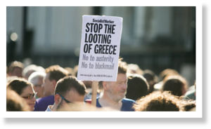 greek protest