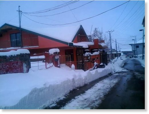 Heavy snow fall in Murree,  Pakistan