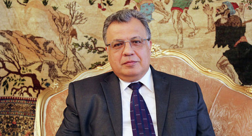 Russian ambassador to Turkey Andrey Karlov