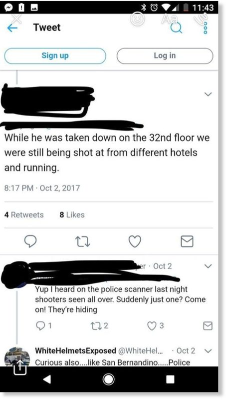Different hotels shooting text