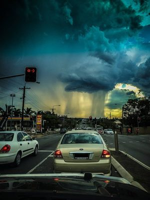 Serious weather in Australia